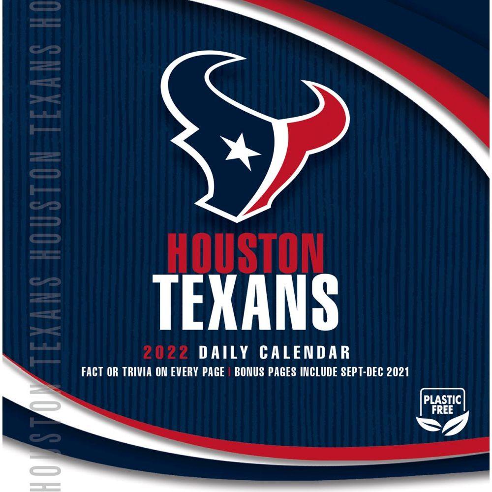 Houston Texans 2022 Desk Calendar