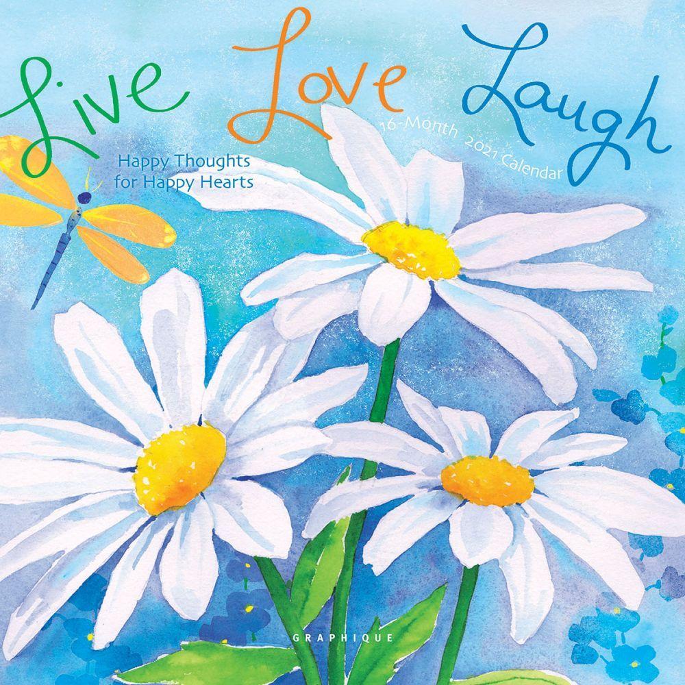2021 Live Love Laugh Cavallo Mini Wall Calendar