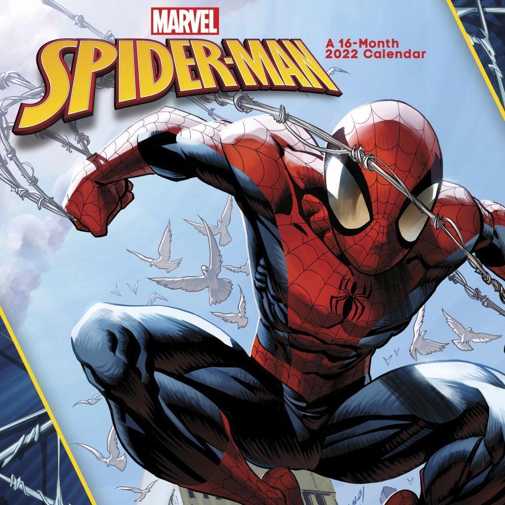 Spider-Man 2022 Wall Calendar