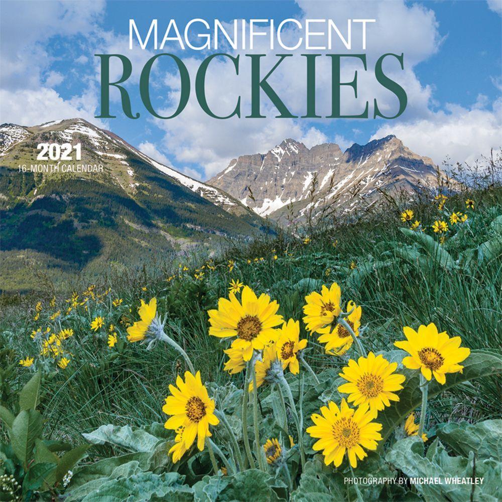 2021 Magnificent Rockies Mini Wall Calendar
