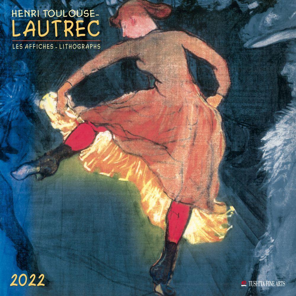 Henri Toulouse Lautrec 2022 Wall Calendar