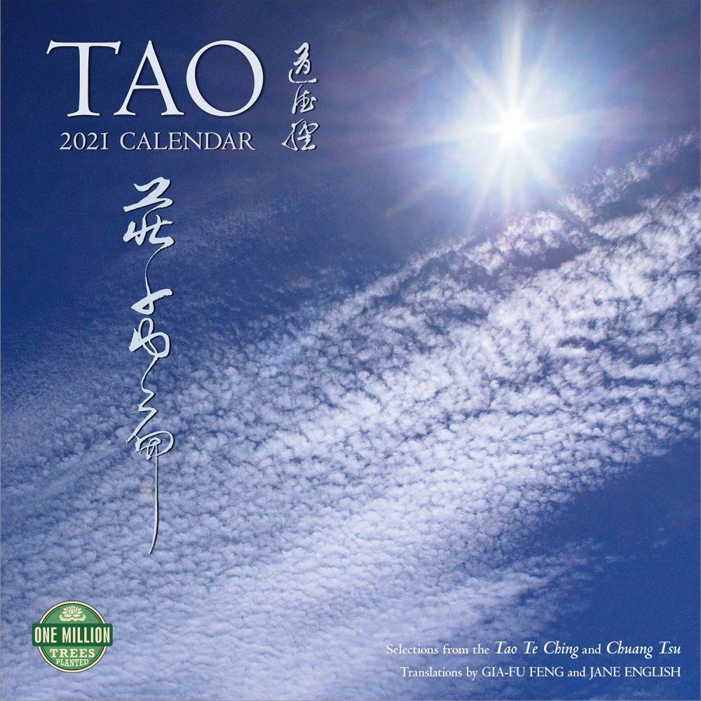 Tao 2021 Wall Calendar