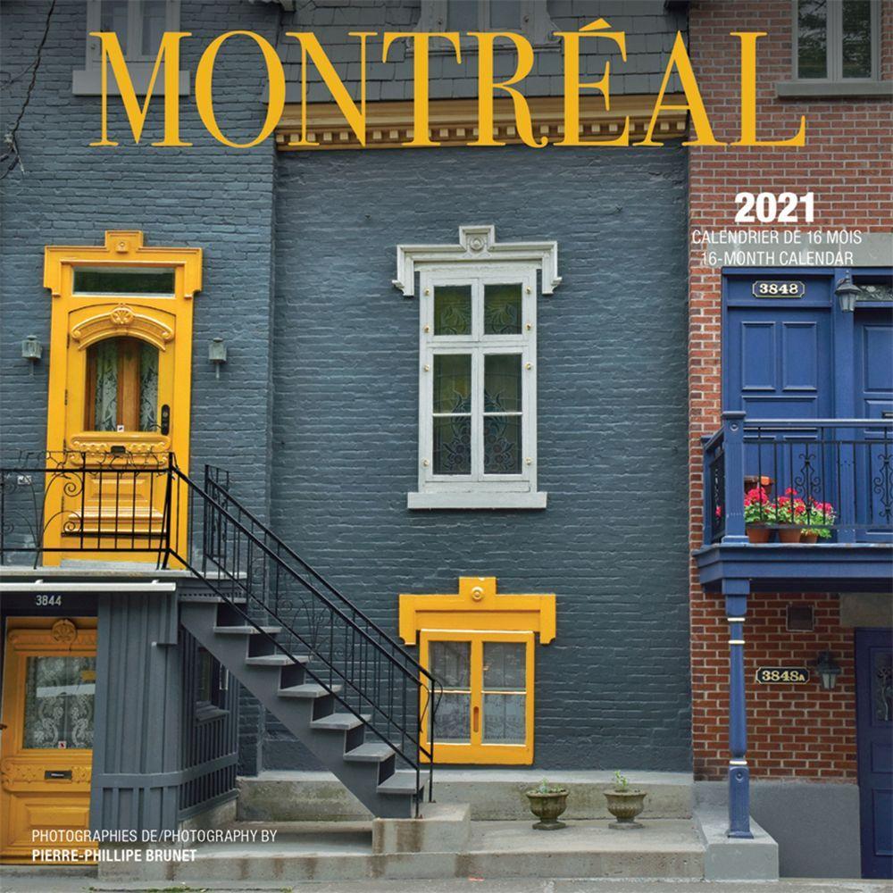 2021 Montreal Mini Wall Calendar