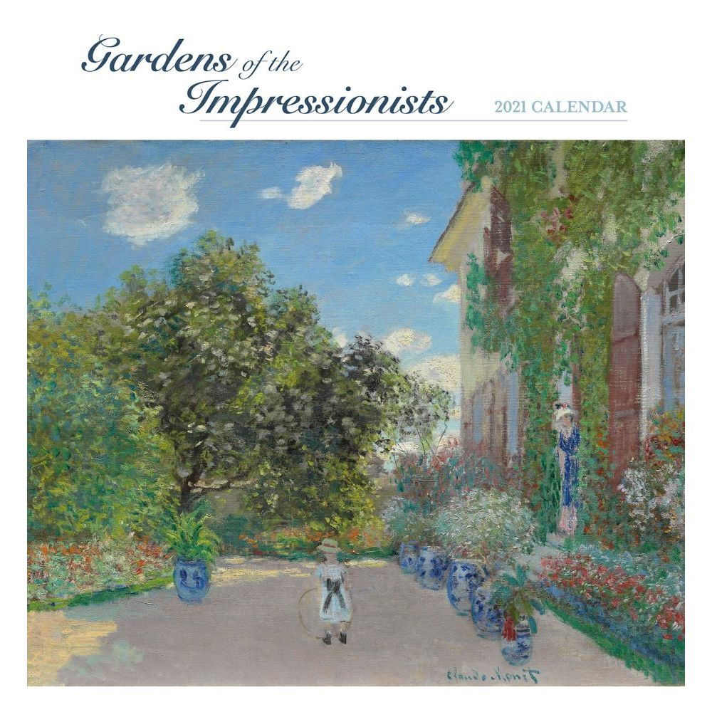 2021 Gardens of the Impressionists Wall Calendar