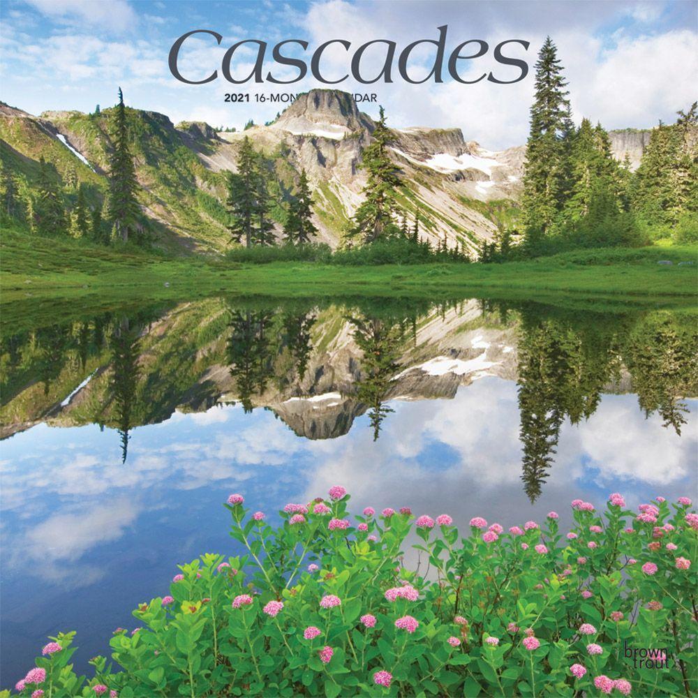 Cascades 2021 Wall Calendar