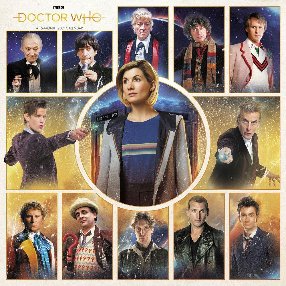 Dr. Who 2021 Wall Calendar