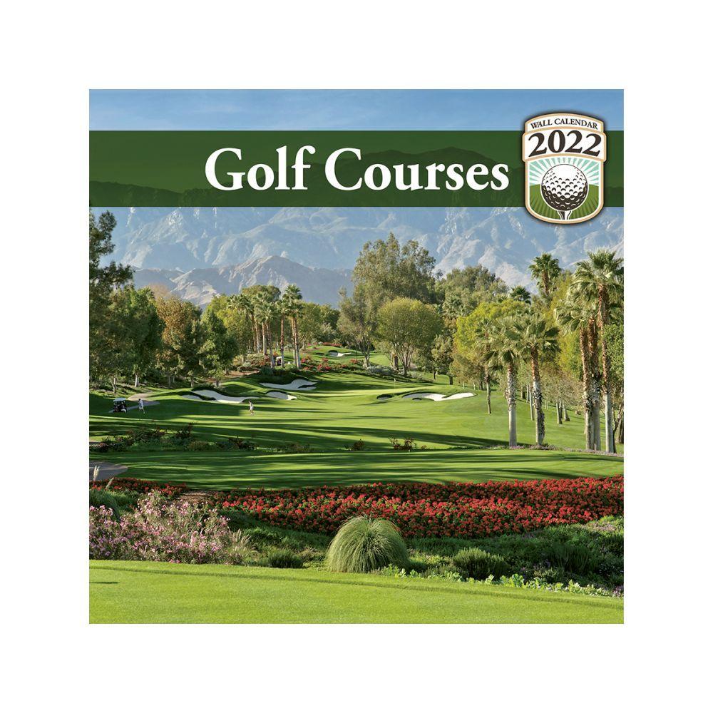 Golf 2022 Mini Wall Calendar