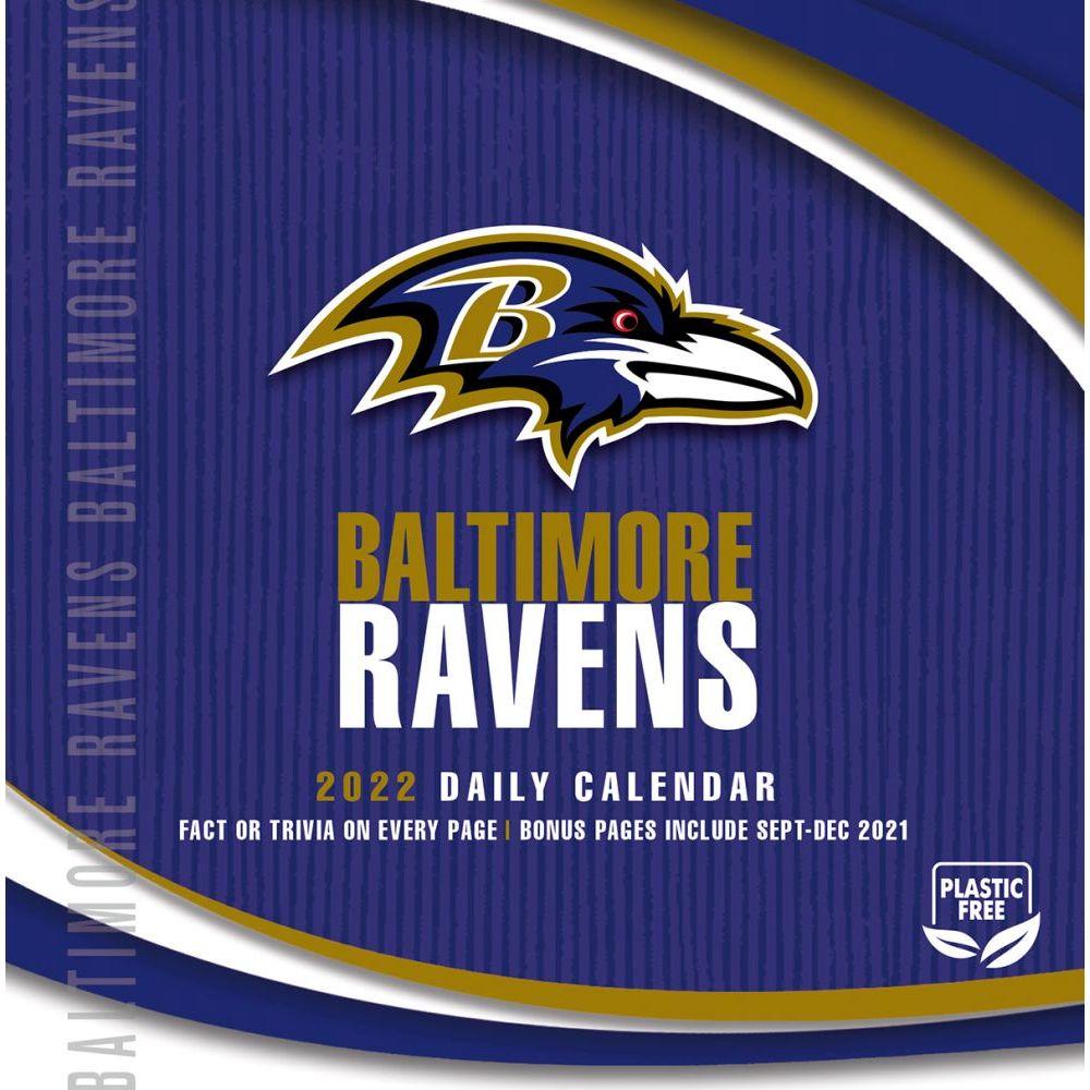Baltimore Ravens 2022 Desk Calendar
