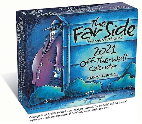 2021 Far Side Desk Calendar