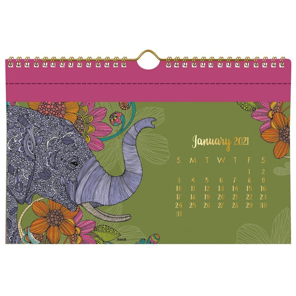 2021 Valentina Pocket Wall Calendar by Valentina Harper