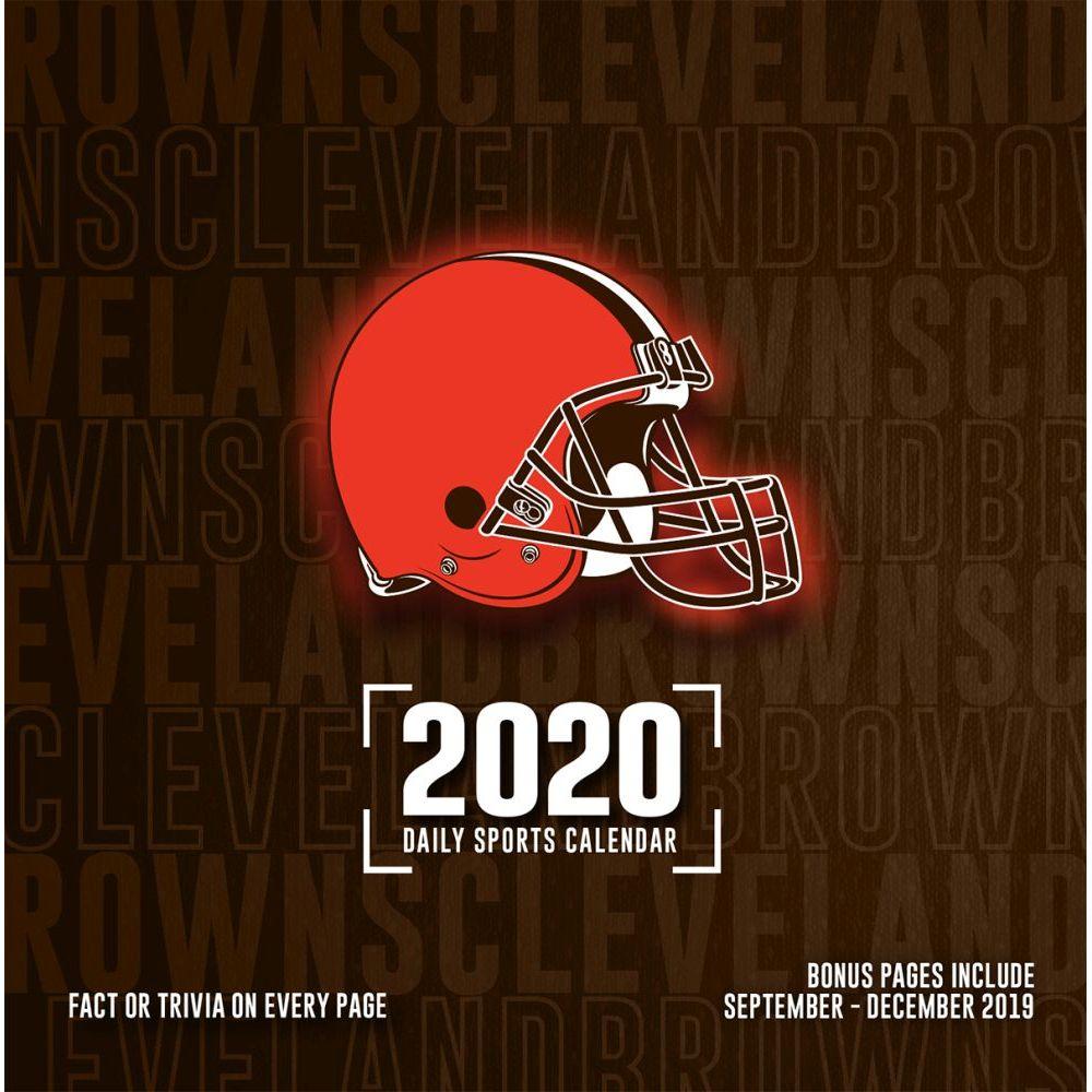Cleveland Browns 2021 Desk Calendar