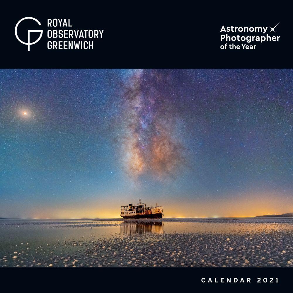 2021 Royal Observatory Astronomy Wall Calendar