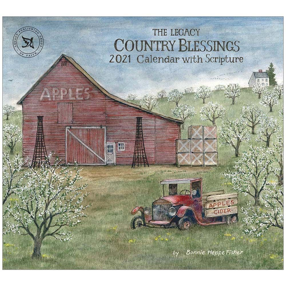 2021 Country Blessings Fisher Wall Calendar