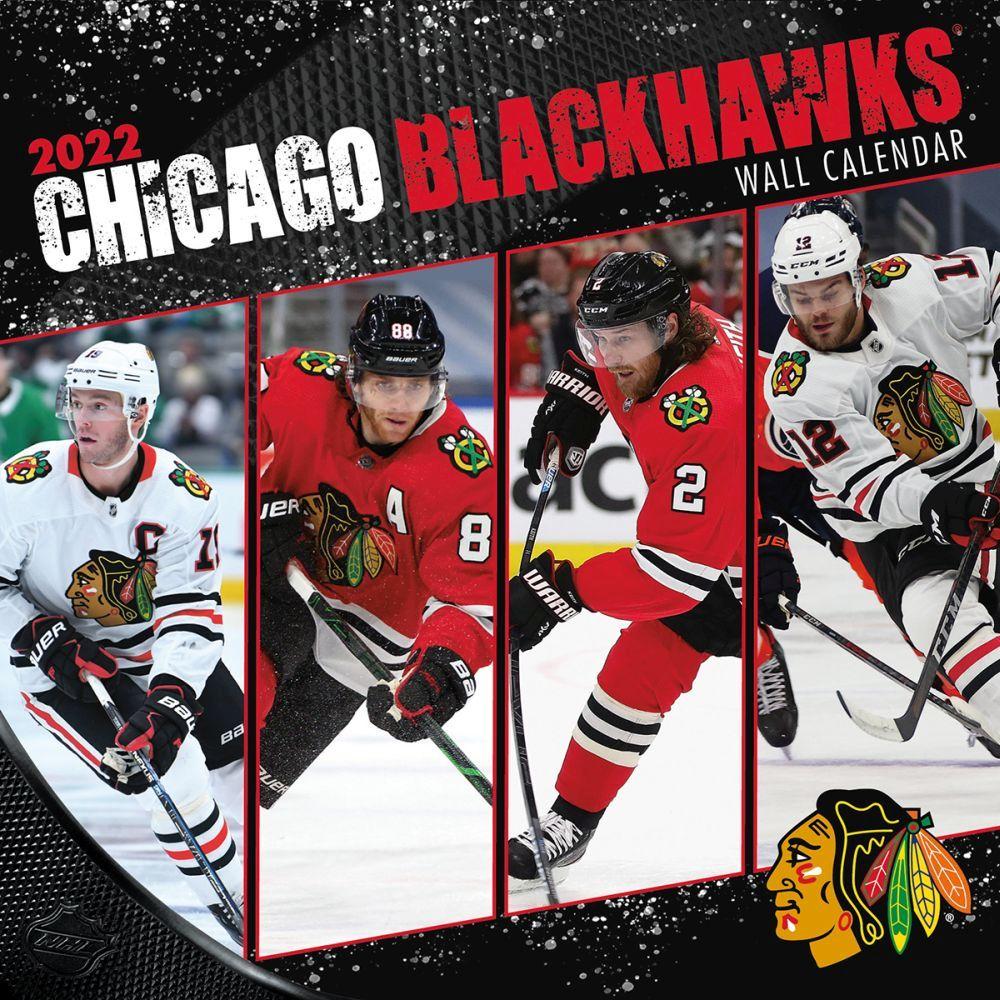 Chicago Blackhawks 2022 Wall Calendar