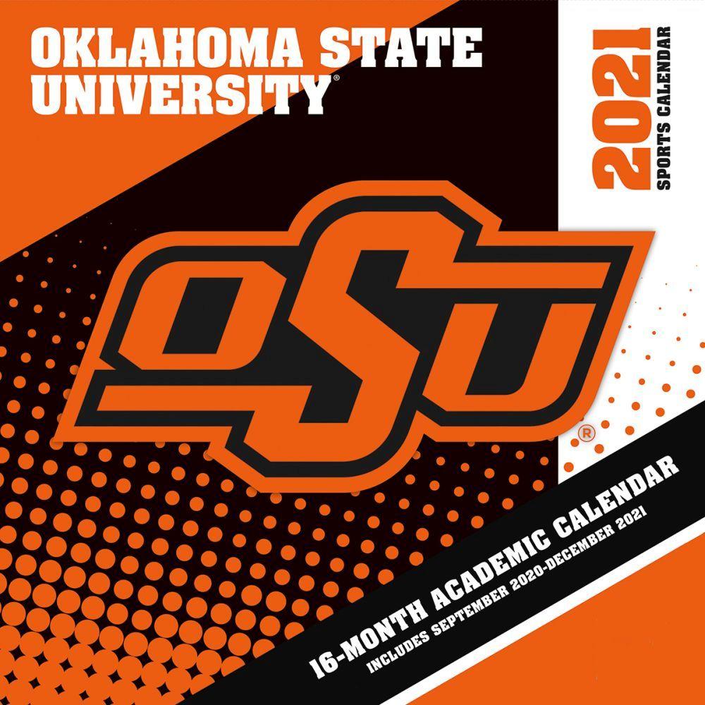 Oklahoma State University 2021 Wall Calendar