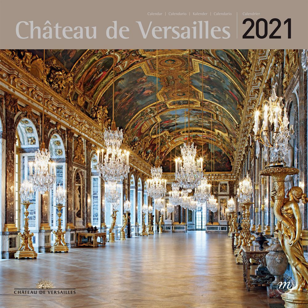 2021 Versailles RMN Wall Calendar