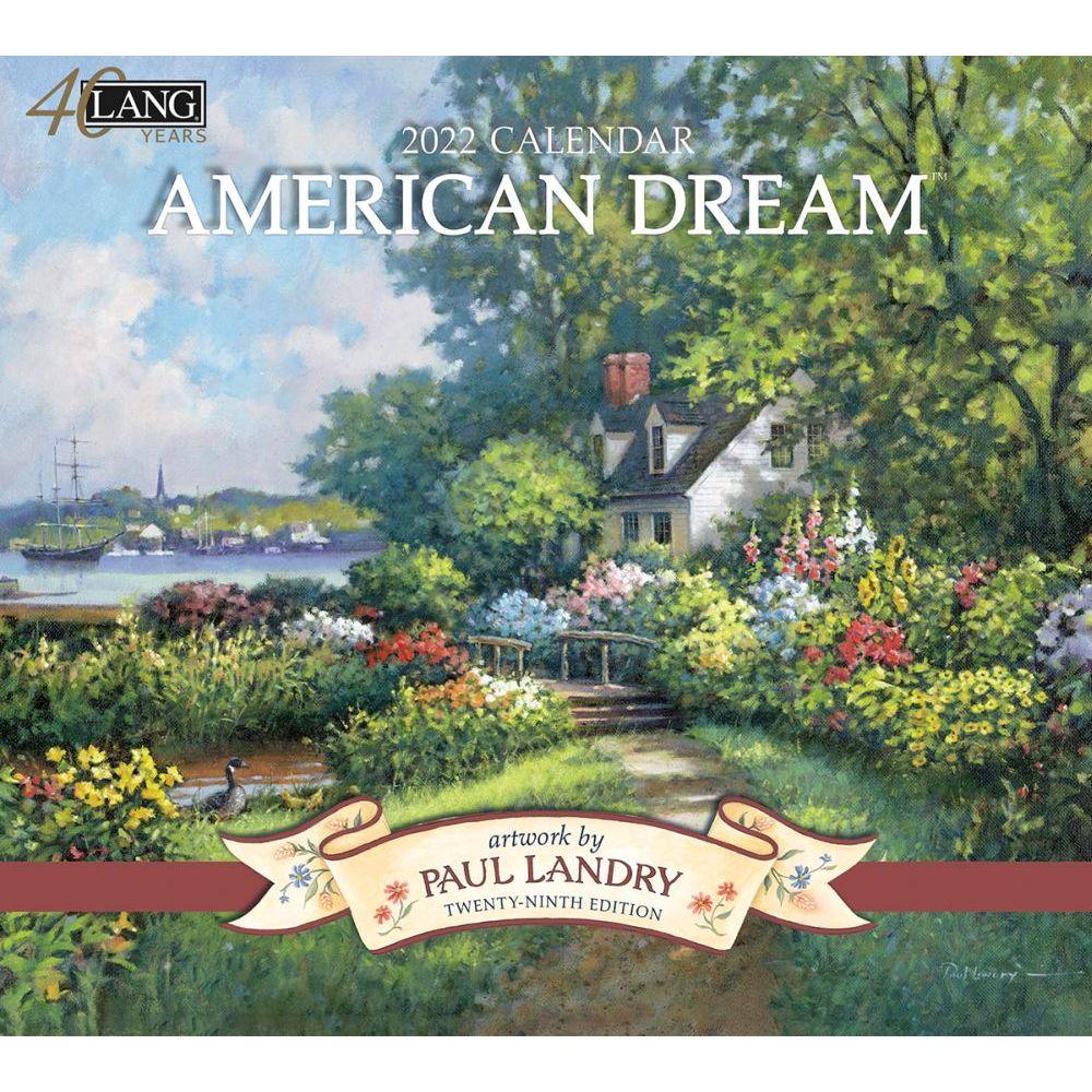 American Dream 2022 Wall Calendar