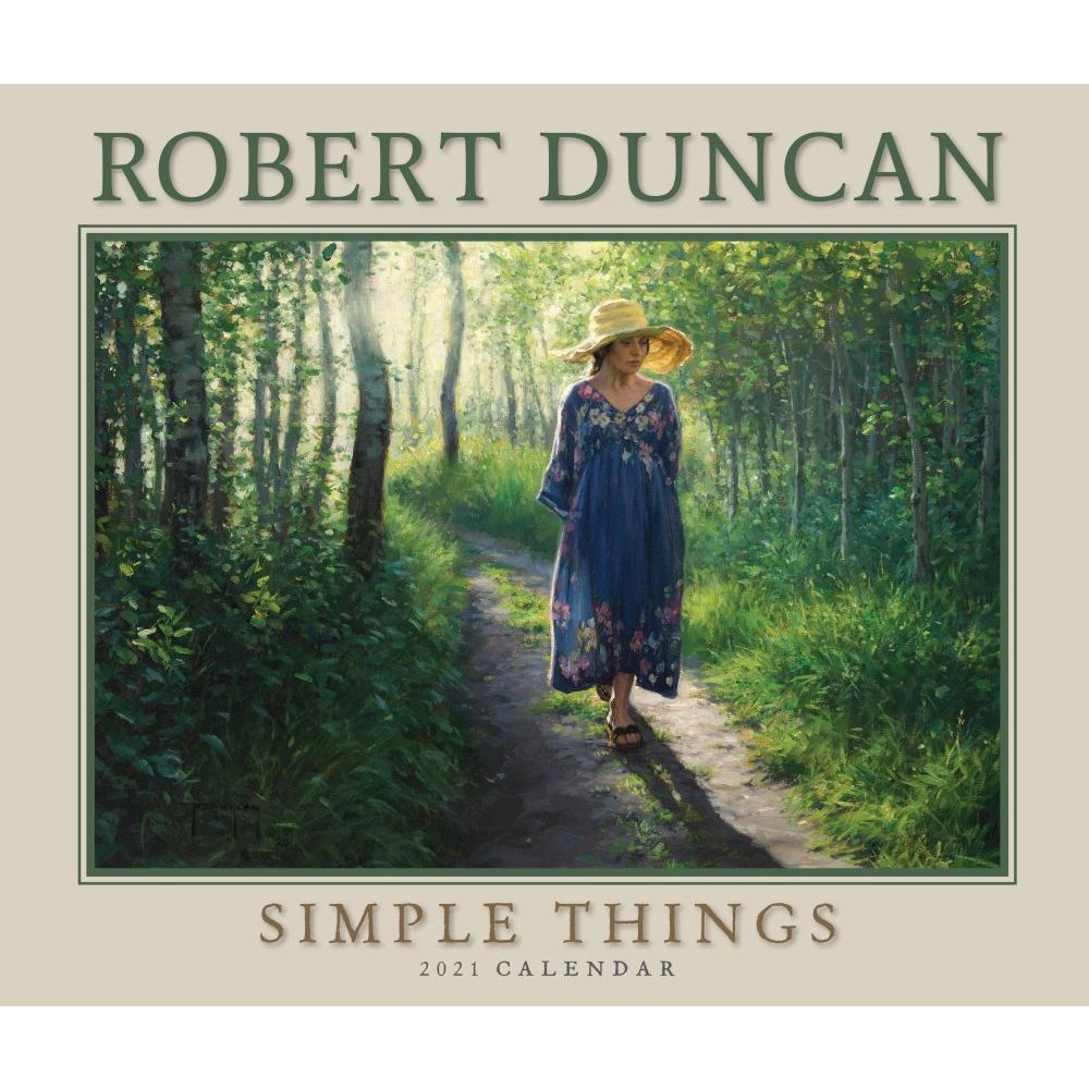 2021 Duncan Simple Things Deluxe Wall Calendar