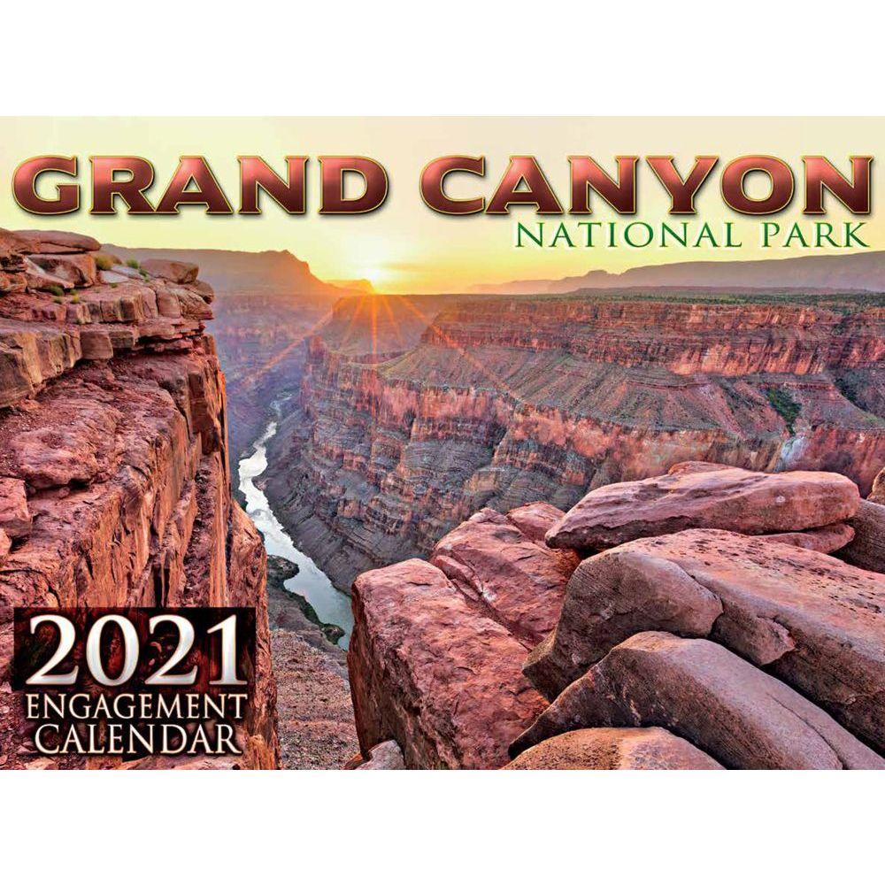 2021 Grand Canyon Wall Calendar