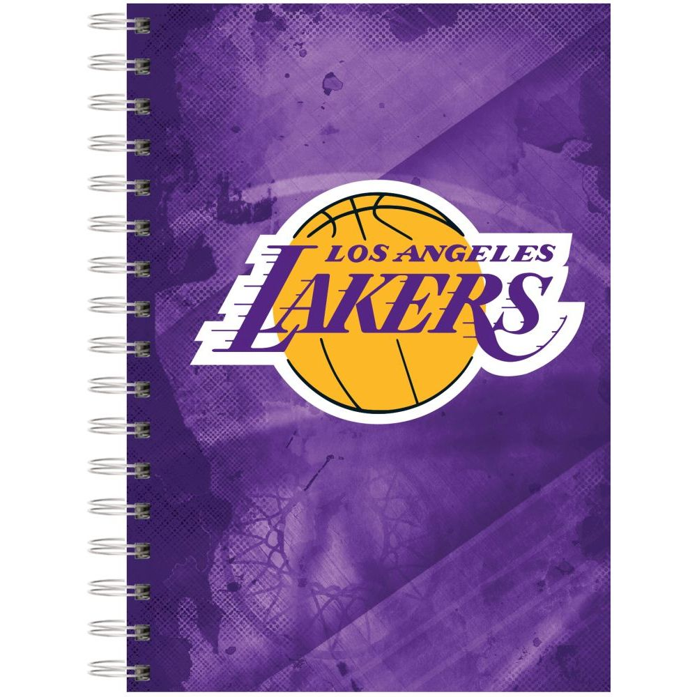 Nba-Los-Angeles-Lakers-Spiral-Journal