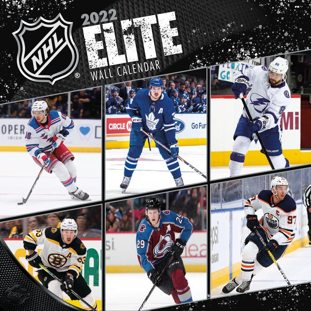 NHL Elite 2022 Wall Calendar