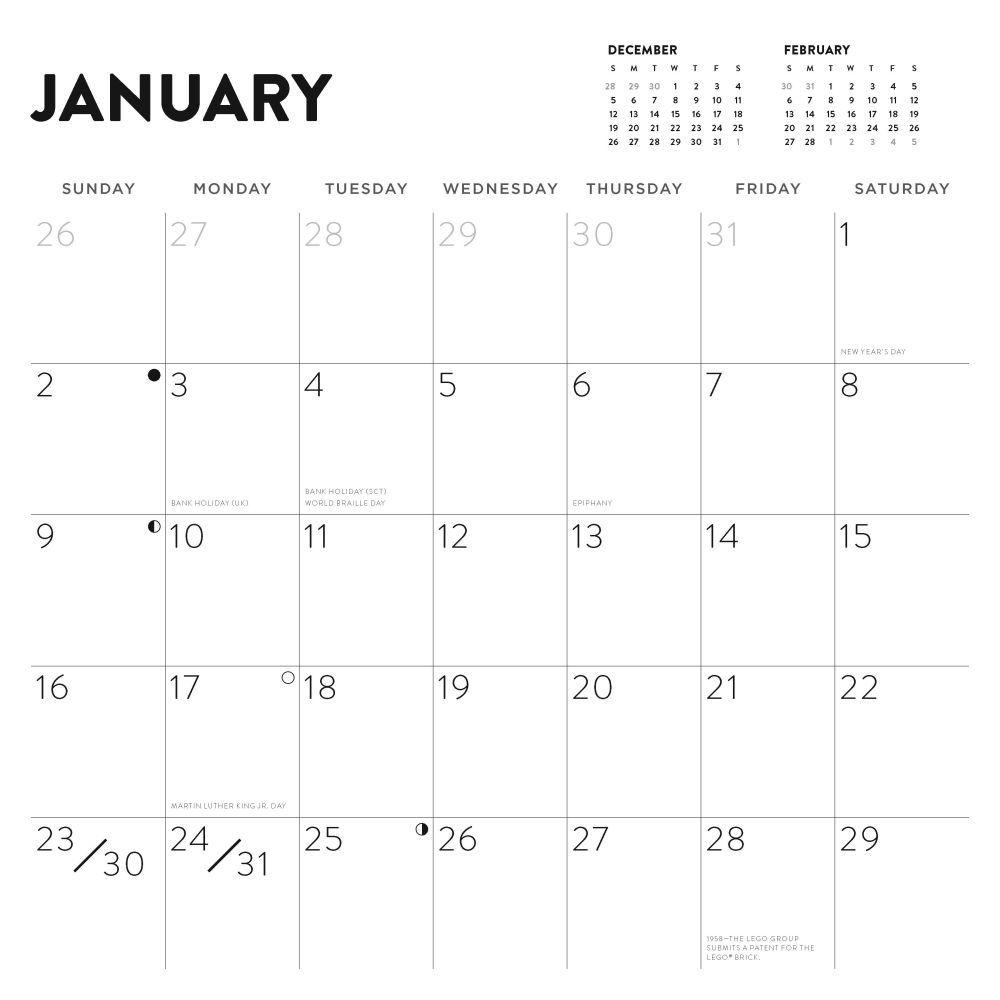 Lego Calendar September 2022.Lego 2022 Wall Calendar Calendars Com