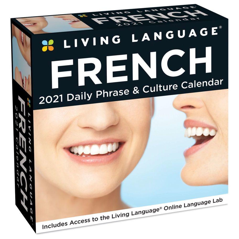 Living Language French Desk Calendar 2020