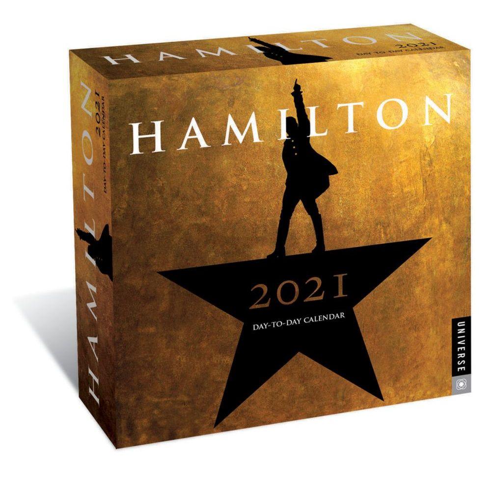 2021 Hamilton Desk Calendar