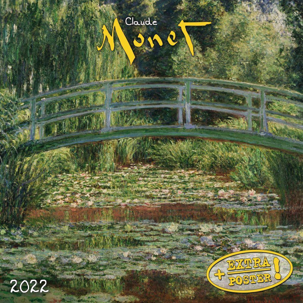Claude Monet 2022 Small Wall Calendar