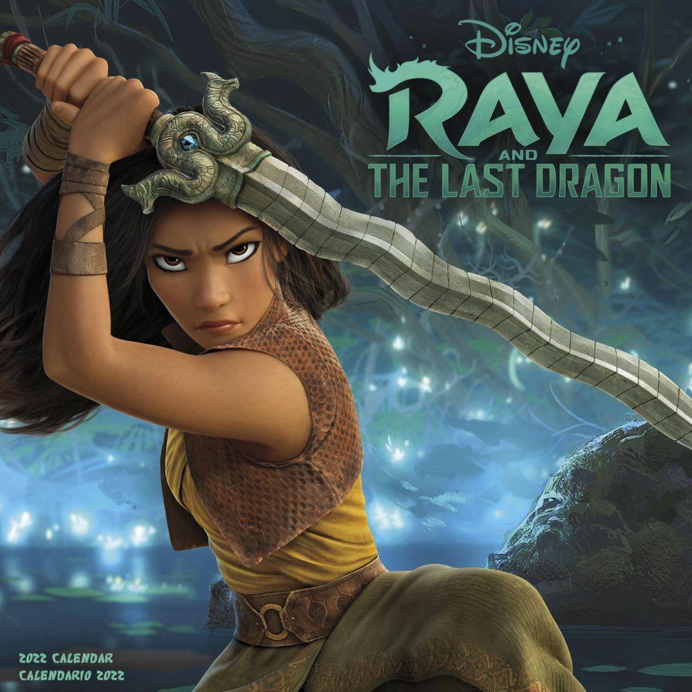 Raya & Last Dragon 2022 Wall Calendar (SPANISH)