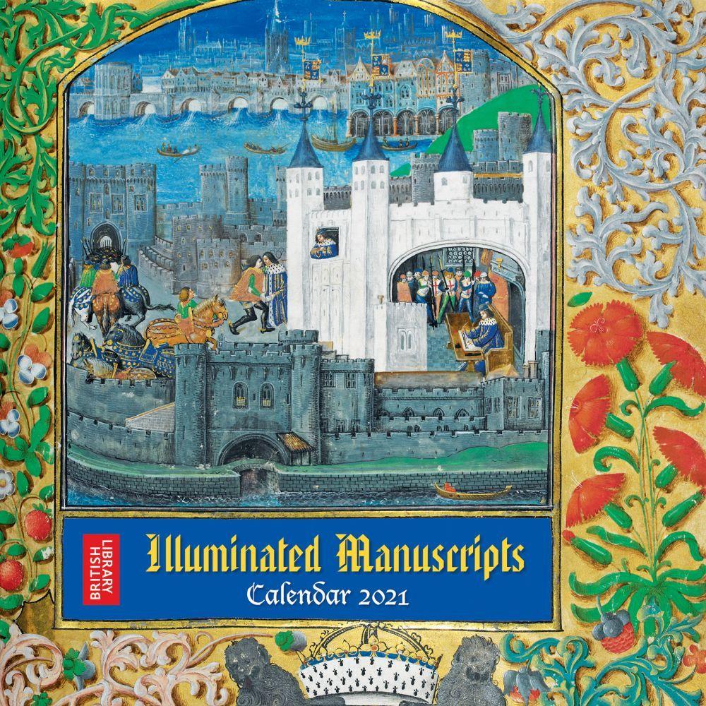 Illuminated Manuscripts 2021 Wall Calendar