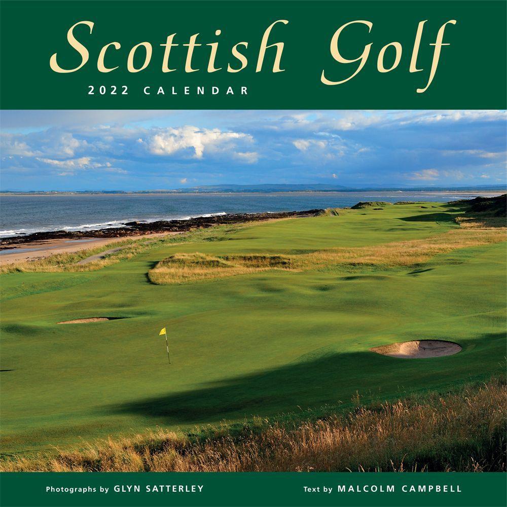 Scottish Golf 2022 Wall Calendar