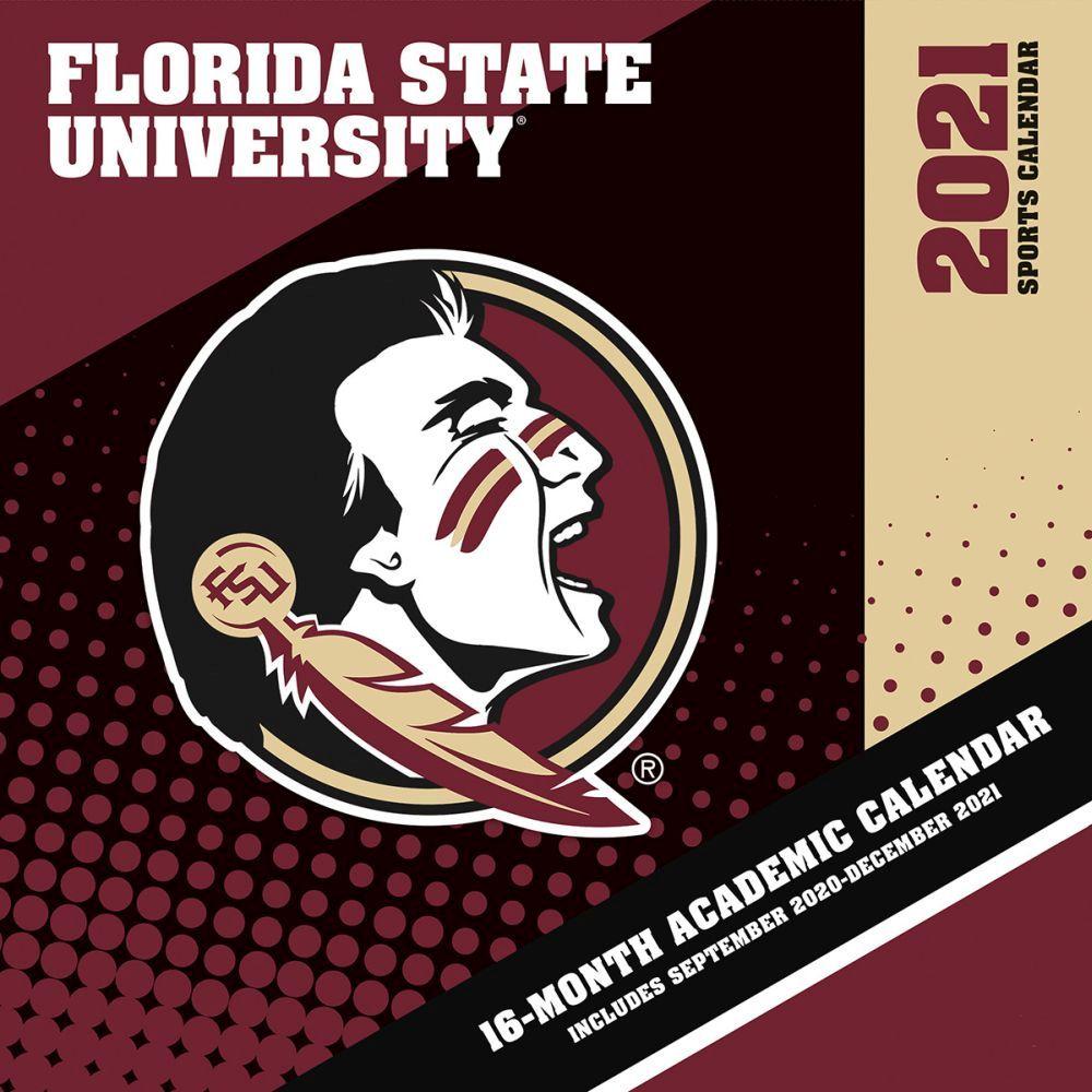 2021 COL Florida State Seminoles Mini Wall Calendar