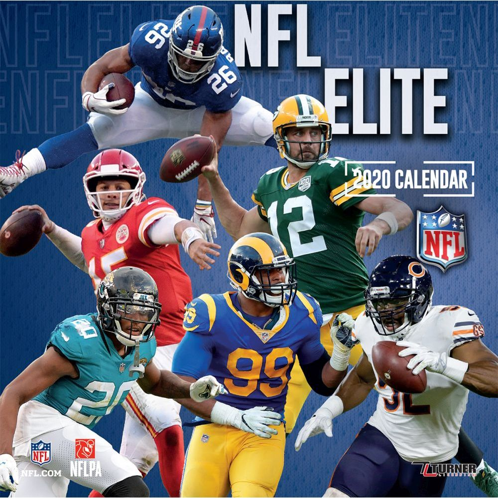 2021 NFL Elite Mini Wall Calendar
