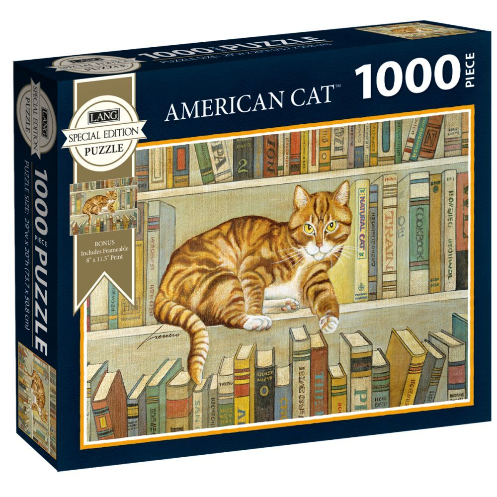 Best American Cat Special Edition 1000pc Puzzle You Can Buy