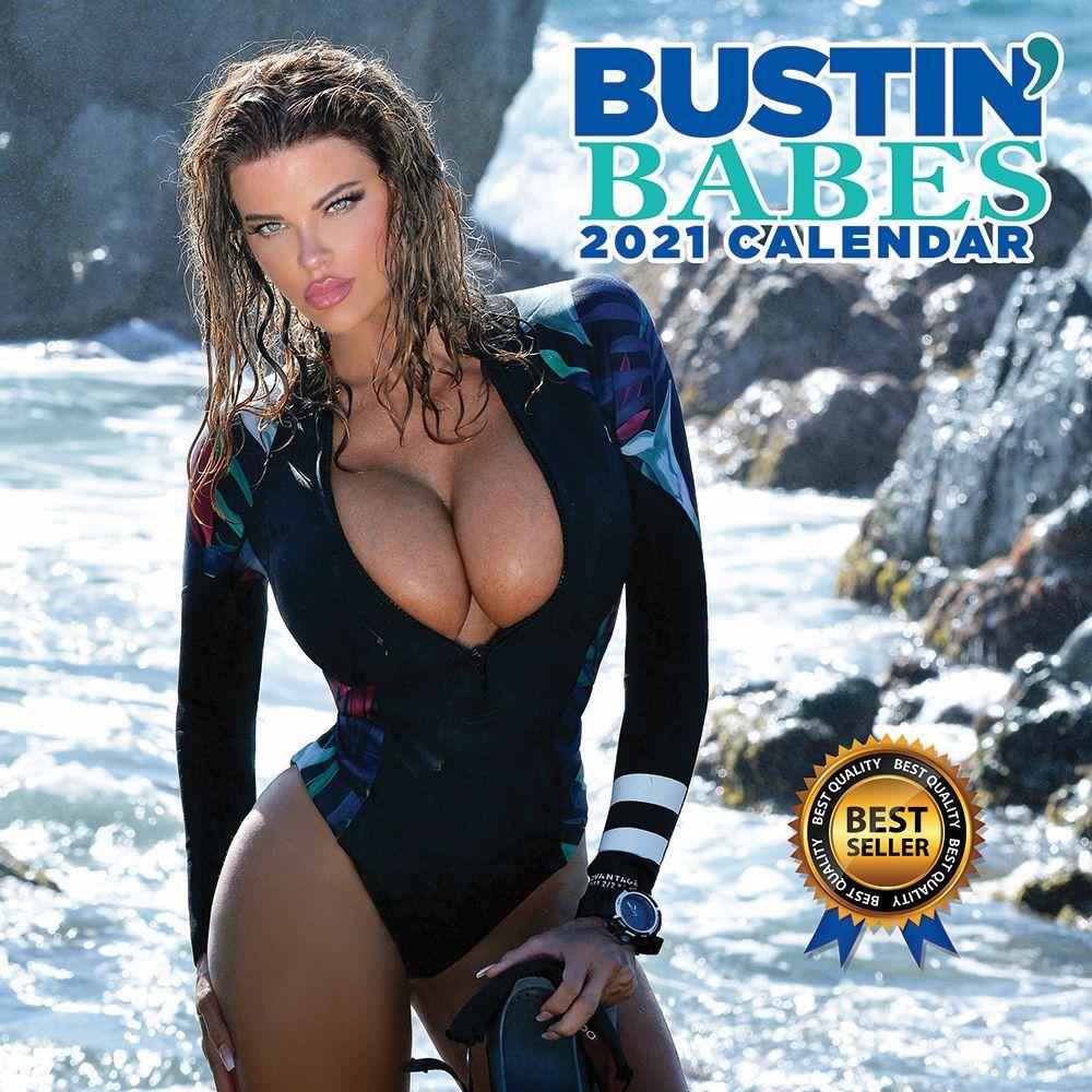 Bustin Babes 2021 Wall Calendar