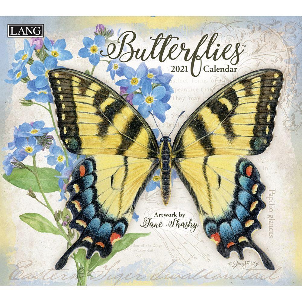2021 Butterflies Wall Calendar by Jane Shasky