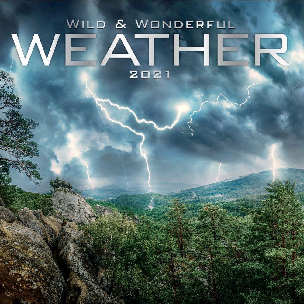 Wild and Wonderful Weather 2021 Wall Calendar