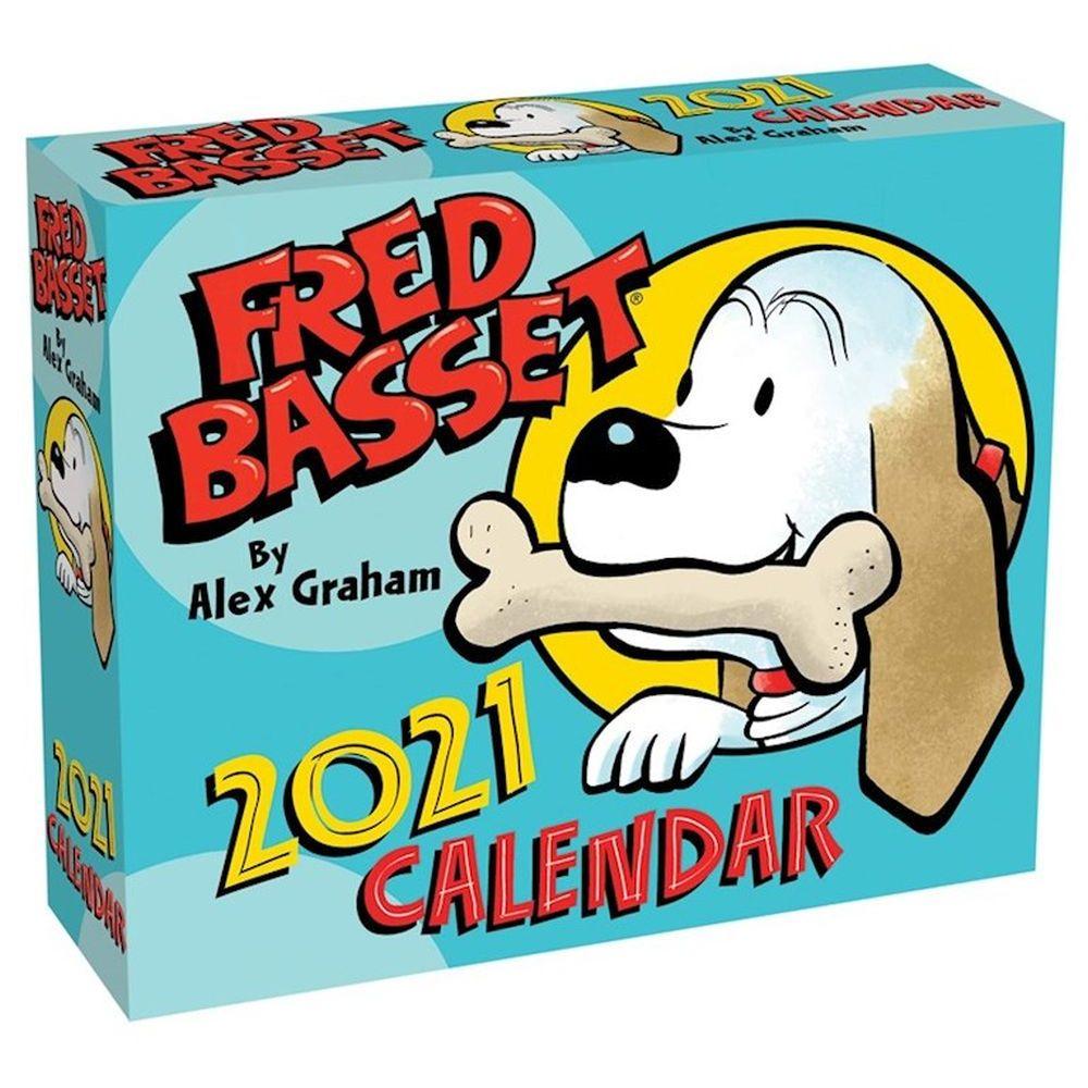 2021 Fred Basset Desk Calendar