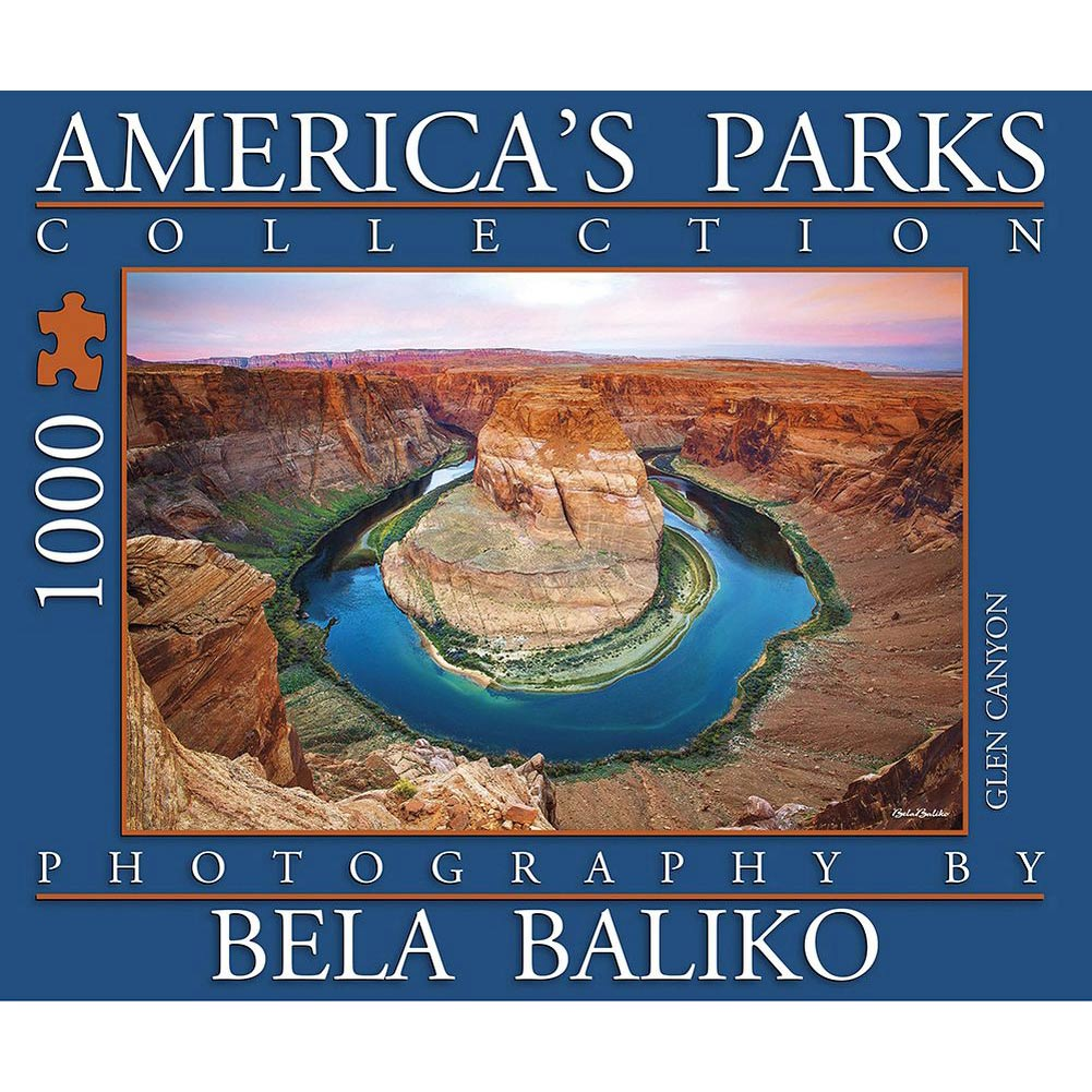 Best Bela Baliko America's Horseshoe Bend 1000 Piece Puzzle You Can Buy