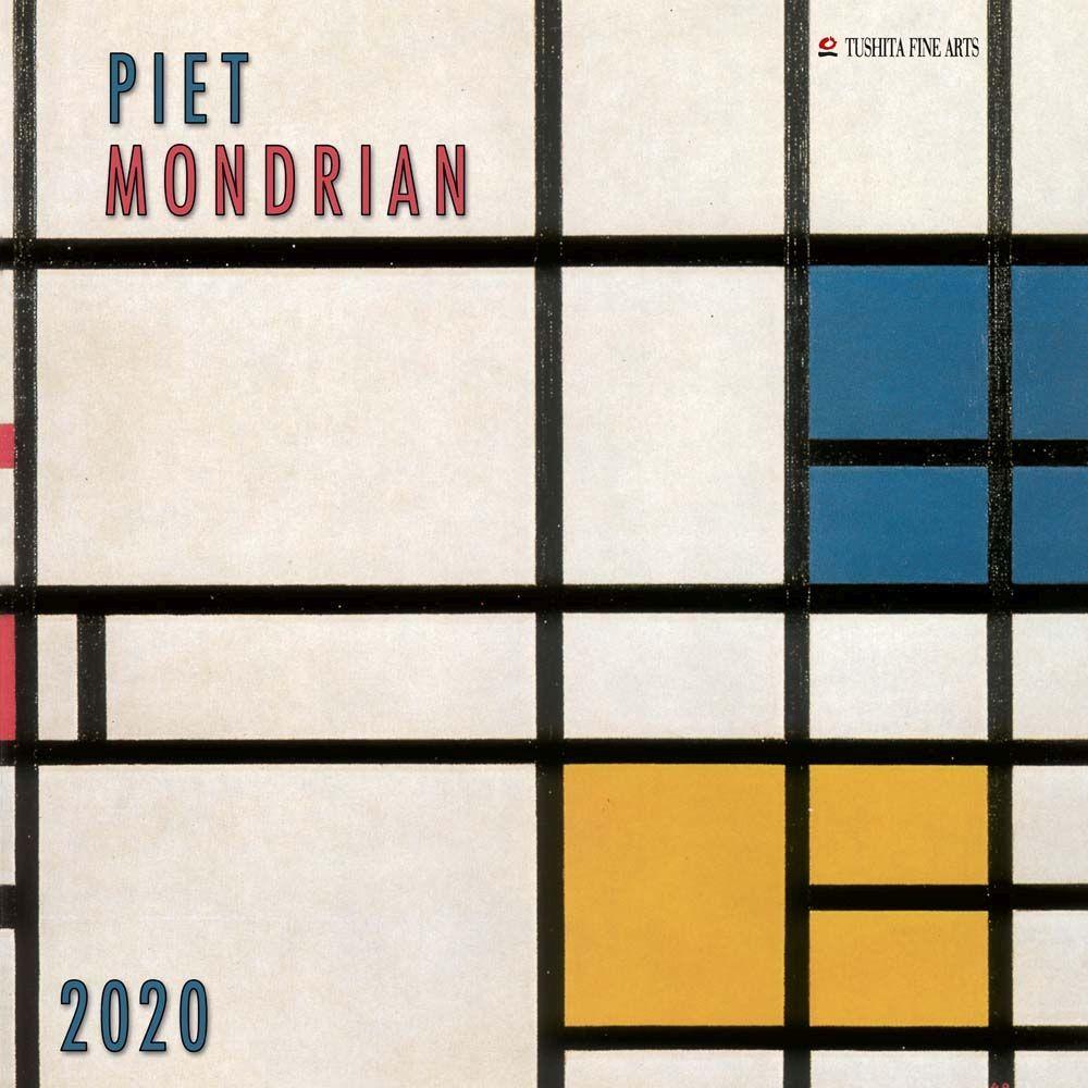 2021 Piet Mondrian Wall Calendar