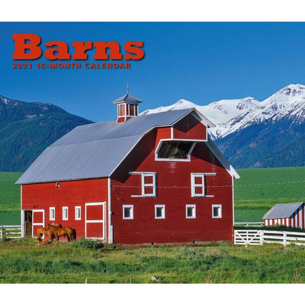 2021 Barns Deluxe Wall Calendar