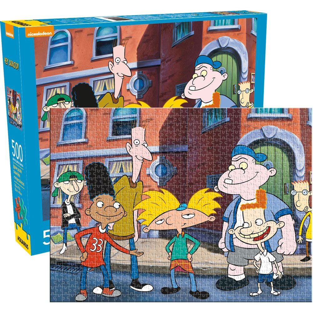 Best Hey Arnold 500pc Puzzle You Can Buy
