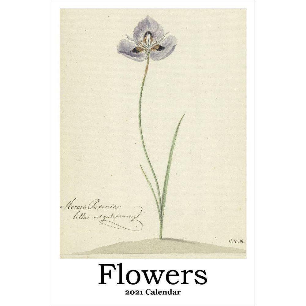 2021 Flowers Poster Wall Calendar