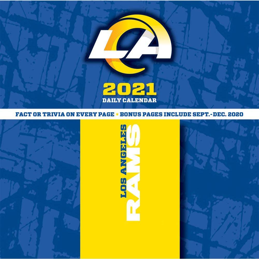 Los Angeles Rams 2021 Desk Calendar