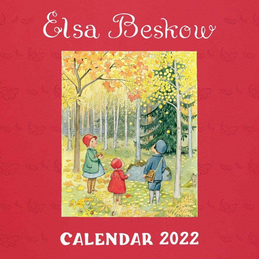 Elsa Beskow Calendar 2022 Wall Calendar