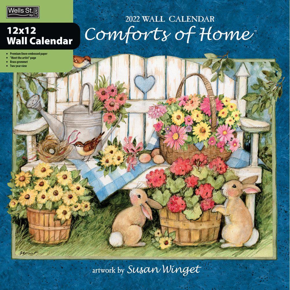Comforts Of Home 2022 Wall Calendar