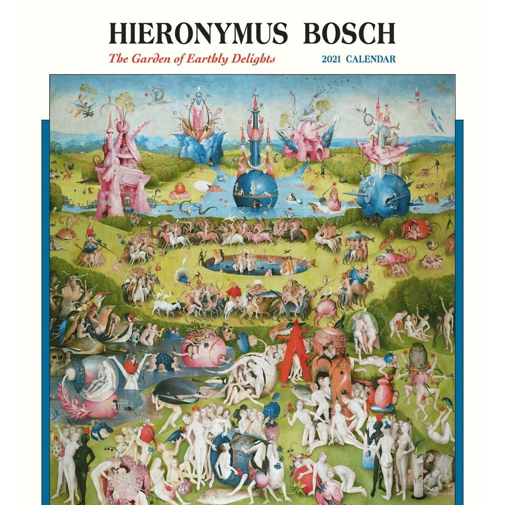 2021 Bosch Garden of Earthly Delights Wall Calendar