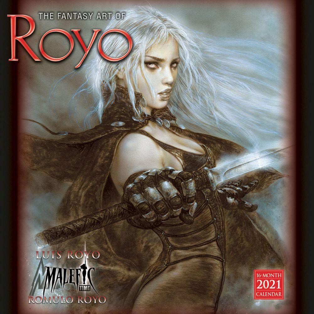 Royo Fantasy Art 2021 Wall Calendar