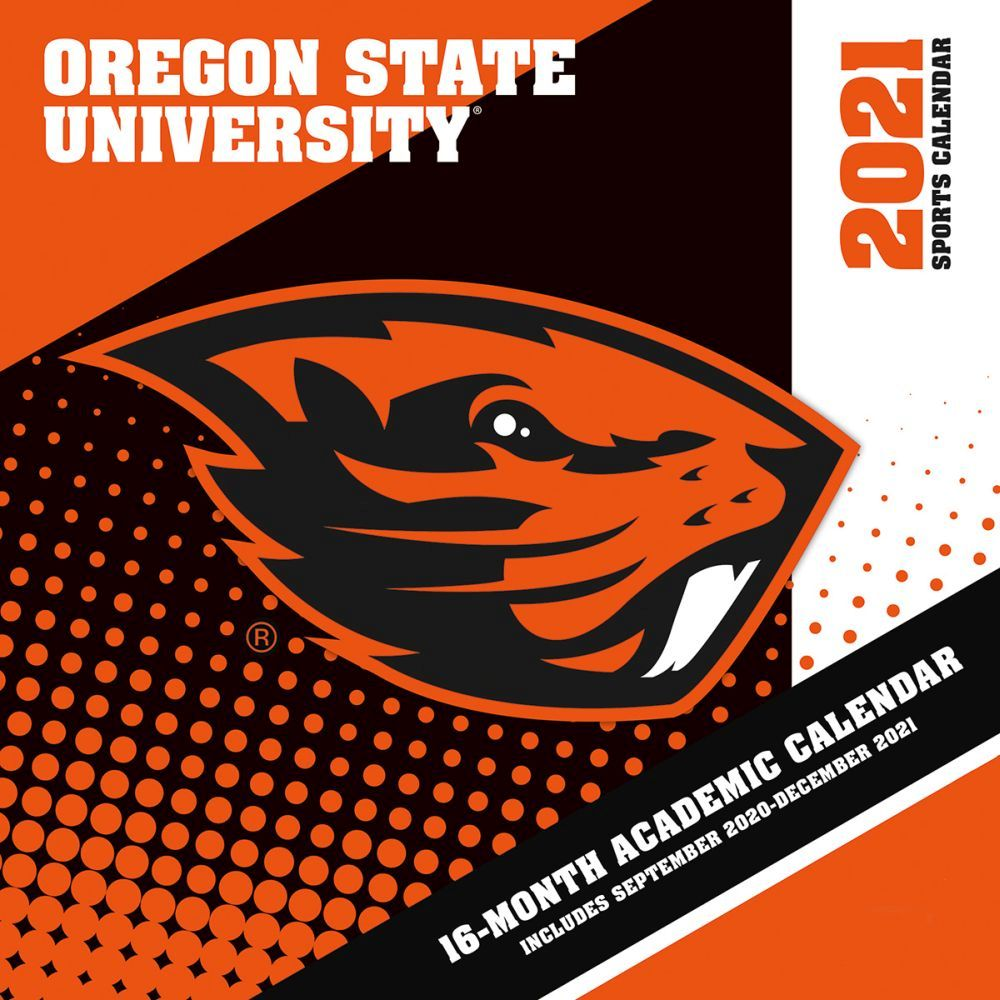Oregon State University 2021 Wall Calendar